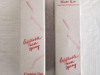 2  Mary Kay Refillable Purse Sprayer Atomizer