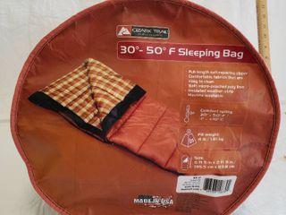 Ozark Trail 30 50 Degrees F Sleeping Bag 4lb Fill