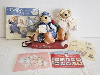 Muffy VanderBear   Bears  Sled  Stickers  Postcards and Accessories
