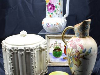 Assorted Antique and Vintage Pottery lot incl Royal Doulton Burslem