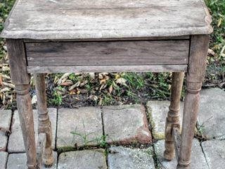 Antique Dry Sink Table 29  Tall x 28  x 16