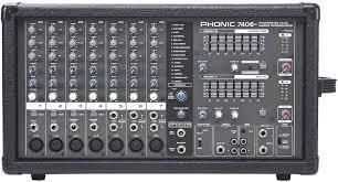 Phonic Power pod 740 Plus Mixer  2 x 220W  Retails  700