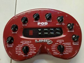 Darelectro Pod Version 2 0 Guitar Effects Processor
