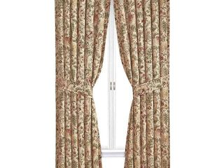Window Curtain Panel with Tie Back