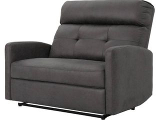 Halima Microfiber 2 Seater Recliner Club Chair by Christopher Knight Home Retail 596 49