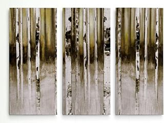 Wexford Birch Path Wrapped Canvas Art