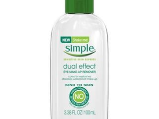 Simple Bi Phase Eye Make up Remover 3 38 oz