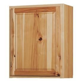 Kitchen Classics Denver 24 in W x 30 in H x 12 in D Finished Hickory Single Door Kitchen Wall Cabinet