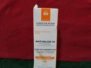 la Roche posay Anthelios Mineral Ultra light Sunscreen Spf 50 1 7 Floz Exp01 21