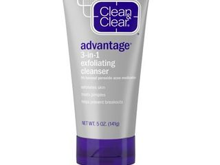 Clean and Clear Advantage 3 in 1 Exfoliating   CREAM