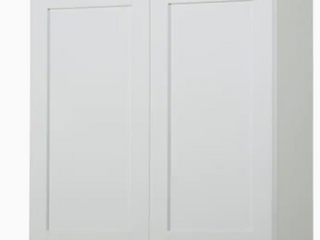 White Wall Cabinets  35 5inWx30inHx13inD