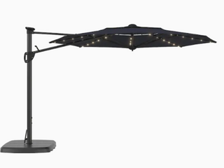 SimplyShade 11ft lED lighted Cantilever Umbrella