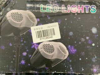 Black   Outdoor Christmas lED Projection light Remote Control Timer Function Waterproof laser lamp for Xmas Holiday Garden Party Retail 79 98