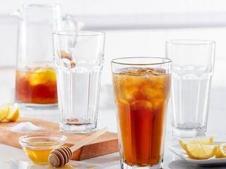 Set of 12   libbey Gibraltar Iced Tea Glasses  Set of 12