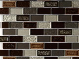 Crystal Shores 2X1 BrickJoint Mosaic Hazel Harbor   12 75 x 11 75