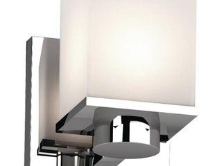 Volume lighting Sharyn 1 light Indoor Chrome Bathroom Wall Sconce Retail 84 99