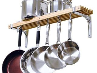 Cooks Standard Wall Mount Pot Rack  36 by 8 Inch Pots NOT Included