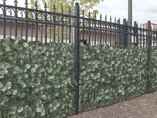 Aleko Privacy Fence Screen leaf Artificial Hedge Fencing 94  x 39  Faux Ivy