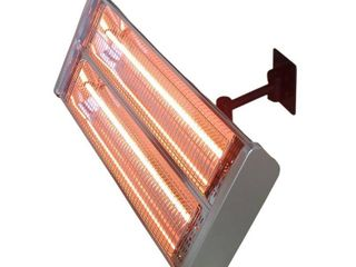 Hiland Dual Bulb Electric Patio Heater Retail 176 34