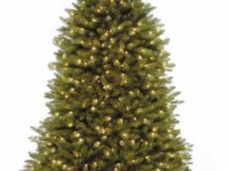 7 5 foot Fir Tree with Clear lights Retail  234 48