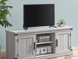 58  TV Stand White   Home Essentials