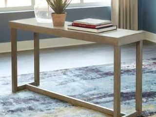 Challene light Gray Sofa Table   60 W x 16 D x 31 H Retail 177 49