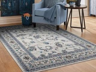 Copper Grove Chepelare Traditional Grey and Black Area Rug  Retail 98 99