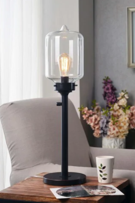 Oil Rubbed Bronze Carbon loft Mangano Oil Rubbed Bronze 28 inch Table lamp Retail  95 99