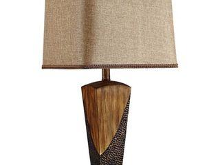 26   Wood 26   Wood  26 European Style Vintage Bronzed Table lamp   26
