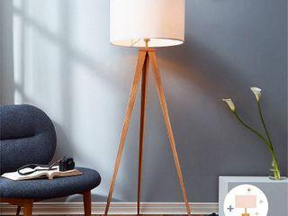 Versanora   Romanza Tripod Floor lamp With White Shade  60 23 H