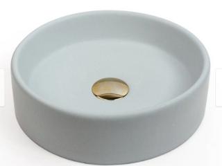 White   Concretti Designs Handmade Mini Miami Concrete Vessel Sink Washbasin Retail 307 99