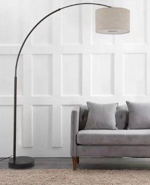 Q Max Steel adjustable Arching Floor lamp