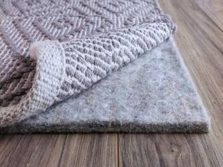 FiberSoft Extra Thick 100  Felt Rug Pad for All Floors   Grey  Retail 105 49