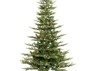 Puleo International 6 1 2 ft  Pre lit Aspen Green Fir Artificial Christmas Tree 500 Clear lights  Retail 204 99