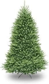 7 5ft National Christmas Tree Company Dunhill Fir Hinged Full Artificial Christmas Tree