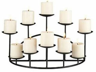 Copper Grove Bugleweed 10 candle Holder