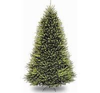 UNlIT 9FT National Christmas Tree Company Full Dunhill Fir Hinged Artificial Christmas Tree
