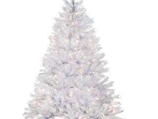National Tree Company 6 ft  Winchester White Pine Tree with Clear lights