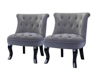 Jane Accent Chair Set of 2  Retail 318 49