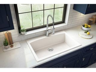 Karran Drop In Quartz Single Bowl Kitchen Sink  Retail 246 49