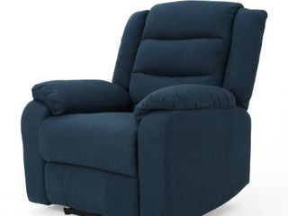 Adrianne Fabric Power Recliner Club Chair by Christopher Knight Home  Retail 456 15