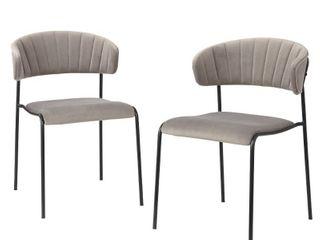 Kalmar Dining Chair Gray   Angelo Home