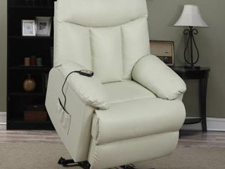 Copper Grove Off White Power lift and Recline Chair  Retail 533 99