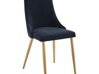 nspire Mid Century Velvet Side Chair   Set of 2