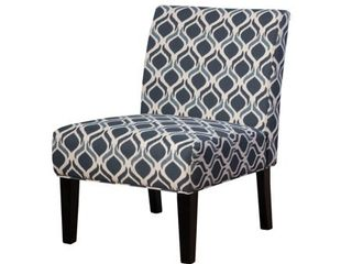 Set of 2 Saloon Contemporary Fabric Slipper Accent Chair by Christopher Knight