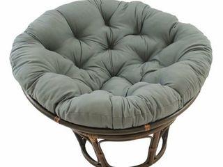Blazing Needles 52 inch Solid Twill Papasan Cushion  Retail 78 48
