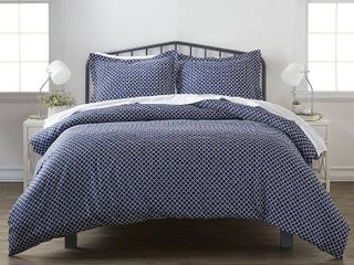 Elegant Designs Patterned Duvet Cover Set by The Home Collection  King Cal King Bedding