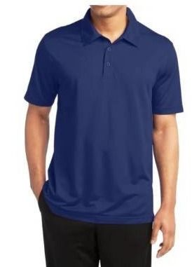 Set of 3 Navy   2Xl  Galaxy by Harvic Men s Dry Fit Moisture Wicking Polo Shirt