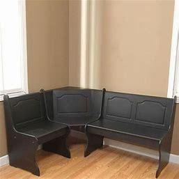 INCOMPlETE Nook Corner Bench  Black  Box 1 of 2