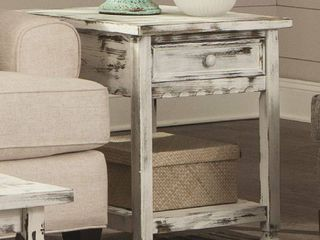 Alaterre Country Cottage End Table  Retail 218 43